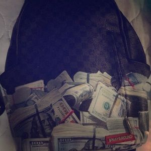 Sprayground cash bag